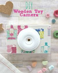 DIY Wooden Toy Camera Woodworking Project For Kids