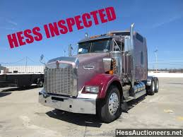 100 2007 Hess Truck USED KENWORTH T800 TANDEM AXLE SLEEPER FOR SALE IN PA 23160
