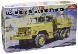 100 Ton Truck Amazoncom Academy 172 Us M35 25ton Cargo 13410 Toys Games