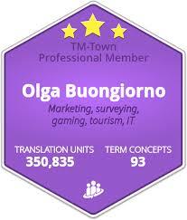 Olga Buongiorno TM Town Profile