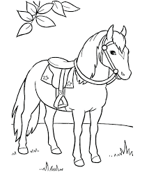 Spirit And Rain Horse Coloring Pages Page 2 Free Printable For Preschool To P