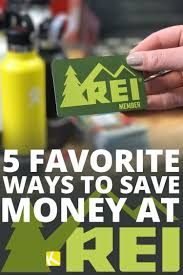 5 Favorite Ways To Save Money At REI - The Krazy Coupon Lady