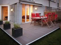 flat roof diy wpc deck tile