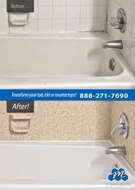 Bathtub Refinishing Dallas Fort Worth by Don U0027t Replace Refinish Plastic Bathtub Refinishing Do You