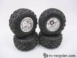 100 Rc Truck Wheels ProLine Moab 22 Rock Crawler Tires On RPM Bully 110