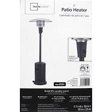 Garden Treasures Patio Heater Assembly Instructions by Mainstays Large Patio Heater Walmart Com