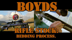 Pillar Bedding Kit by How To Bed A Rifle Stock Glass Bedding A Boyds Thumb Hole Stock