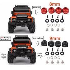 100 Traxxas Trucks LeadingStar Car 8MM9MM Widen Adapter Set For 110 TRAXXAS TRX 4