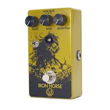 100 Boutique Studio Mode Walrus Audio Iron Horse 3 Distortion Guitar Effect