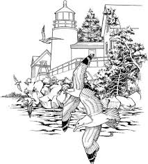 Nature Coloring Pages Seashore