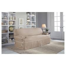 Dual Reclining Sofa Covers by Dual Reclining Sofa Slipcover Target