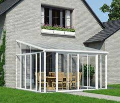 Palram Feria Patio Cover Sidewall by Palram Feria Patio Cover White Clear 3x4 25m Wickes Co Uk