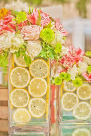 Use Whole Or Sliced Fruit To Line Your Vases For An Extra Pop Of Spring Color