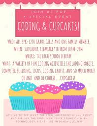 Coding Cupcakes Event