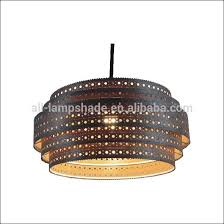 Laser Cut Lamp Shade by Ceiling Lampshade 5 Layers Laser Cutting Wood Veneer Design