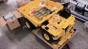 100 Lego Mining Truck Building Awesome LEGO Brick Caterillar 797F YouTube