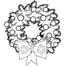 Christmas Wreath Coloring Pages 61
