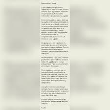 Carta De Buenos Dias
