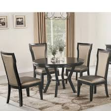 Dining Room Round Table With Chairs Sonoma Road Round Table With 4 Chairs Treviso 150cm Blake 3pc Dinette Set W By Sunset Trading Co At Rotmans C1854d X Chairs Lifestyle Fniture Fair North Carolina Brera Round Ding Table How To Find The Right Modern For Your Sistus Royaloak Coco Ding With Walnut Contempo Enka Budge Neverwet Hillside Medium Black And Tan Combo Cover C1860p Industrial Sam Levitz Bermex Pedestal Arch Weathered Oak Six