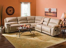 Cindy Crawford Microfiber Sectional Sofa by Raymour And Flanigan Cindy Crawford Mackenzie Recliner Sectional