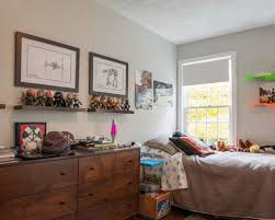 Inspiration For A Transitional Boy Kids Room Remodel In Boston With Gray Walls