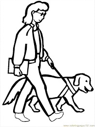 E Disability Coloring Page 09 Printable For Kids And Adults