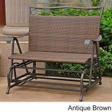 4102-DBL International Caravan Valencia Resin Wicker/ Steel ... Details About Garden Glider Chair Tray Container Steel Frame Wood Durable Heavy Duty Seat Outdoor Patio Swing Porch Rocker Bench Loveseat Best Rocking In 20 Technobuffalo The 10 Gliders Teak Mahogany Exclusive Fniture Accsories Naturefun Kozyard Fleya Smooth Brilliant Outsunny Double How To Tell If Metal And Decor Is Worth Colorful Mesh Sling Black Buy Chairoutdoor Chairrecliner Product On Alibacom Silla De Acero Con Recubrimiento En Polvo Estructura