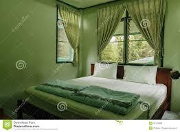 schlafzimmer ist grün stockfoto bild floral glas