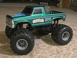 100 Godzilla Monster Truck Outlaw Retro Trigger King RC Radio Controlled