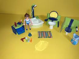 playmobil bad badezimmer möbel für haus einrichtung