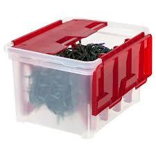 IRIS Christmas Light Storage Box With 4 Wraps Target