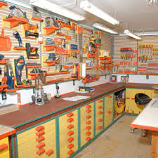 Photo Tour Of Home Woodworking Shops