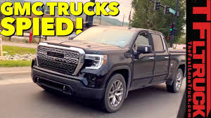 2019 GMC Sierra 1500 Denali & AT4 Spied In The Wild! - YouTube