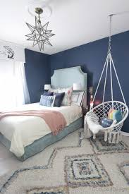 Hanging Chairs For Bedroom - Dark Blue Teenage Girl Room ... Apartment Living Room Interior With Red Sofa And Blue Chairs Chairs On Either Side Of White Chestofdrawers Below Fniture For Light Walls Baby White Gorgeous Gray Pictures Images Of Rooms Antique Table And In Bedroom With Blue 30 Unexpected Colors Best Color Combinations Walls Brown Fniture Contemporary Bedroom How To Design Lay Out A Small Modern Minimalist Bed Linen Curtains Stylish Unique Originals Store Singapore