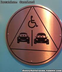Cars Bathroom by Awesome 30 Bathroom Signs Inspiration Design Of 42 Best
