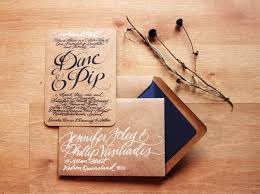 Kraft Paper Wedding Invitations For A Appealing Invitation Design With Layout 15