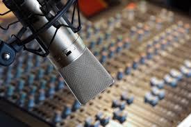 Radio Studio HD Wallpaper Recording Microphone