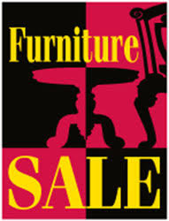 25 In X 38 Furniture Sale Sign