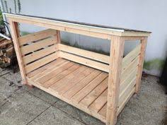 firewood storage hutch shed easy free plans covered wood stack ana