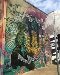 Deep Ellum 42 Murals Project by Love It Habitfest 918 Tulsa Streetart Mural By