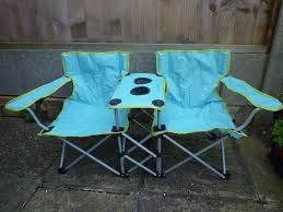 Child's Fold Away Twin Seated Picnic/Garden Chair | In Wokingham, Berkshire  | Gumtree