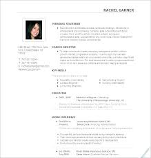 Successful Resume Templates Examples Of Effective Resumes Good And Bad S Plaza Most