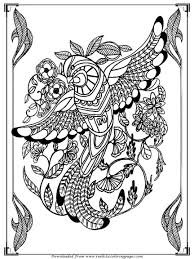 Draw Bird Coloring Pages For Adults 75 In Seasonal Colouring With Pictures