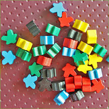 8 PCS Carcassonne Wooden Pawns Board Game Pieces 5 Colors Meeples DIY Good Quality In Games From Sports Entertainment On Aliexpress
