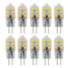 dayker 12 volt g4 base led light bulb not dimmable 2w bipin warm