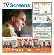 Screens 11 3 17 By Roswell Daily Record