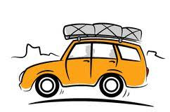 Travel Car Stock Photo