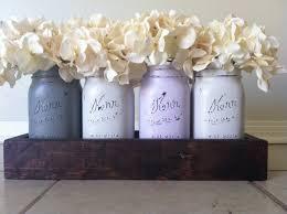 Shabby Chic Wedding Decor Pinterest by Wooden Box Centerpiece Rustic Mason Jar And Wood Box Table