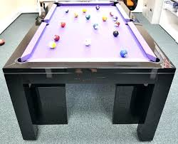 Dining Pool Table And Dinner Combo
