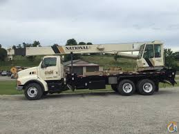 Sold 2001 National Boom Truck Crane For In Barnesville Ohio On ...
